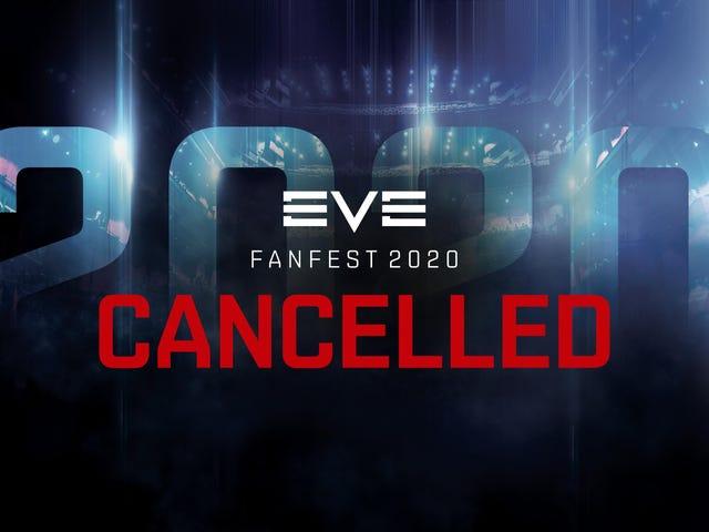 Se cancela el Fanfest anual de EVE Online debido a coronavirus
