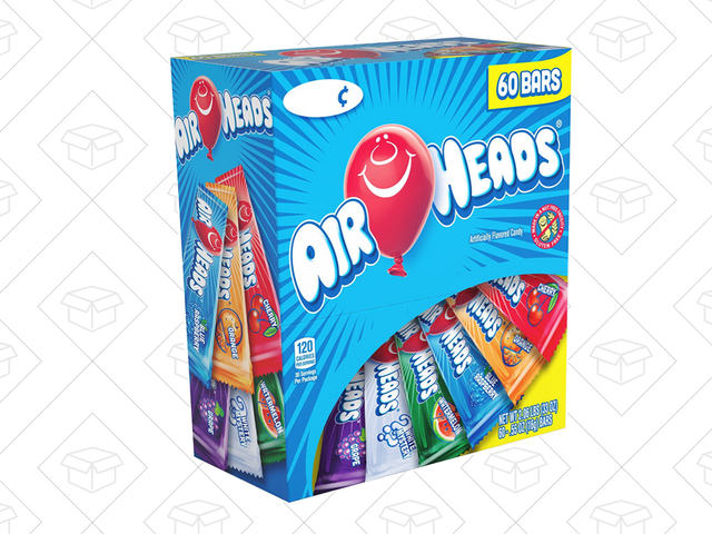Prove Your Intelligence, Buy 60 Airheads For $7.