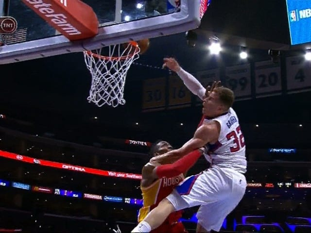 Dwight Howard Hammers Blake Griffin On Dunk Attempt
