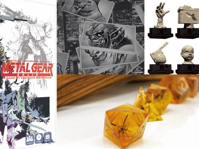 Metal Gear Solid Sees Another Delay and Trivial Pursuit Embraces Horror in Gaming News