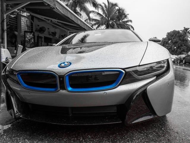 BMW i8 South Beach rehash: Ik kreeg enkele opmerkingen dat mijn eerdere nabewerking met HDR