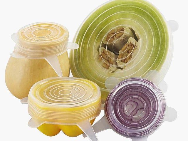 Universal Silicone Food Wrap Pot Lid-bowl