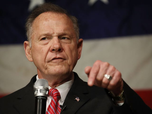 Roy Moore Thinks America Was Better When Slavery Was in Place