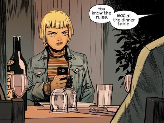 Trong truyện tranh mới của Skrulls, bộ phim gia đình lớn như kết thúc của đế chế