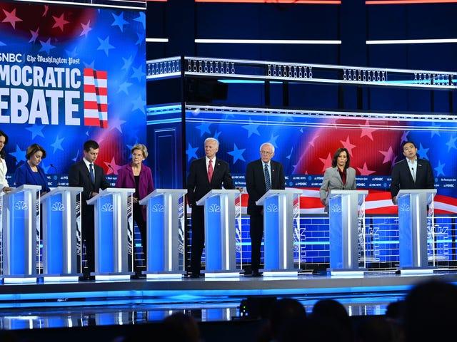 Los mejores y peores momentos del debate democrático de anoche