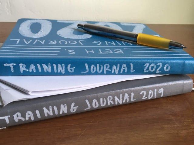Cómo configurar tu diario de entrenamiento físico 2020