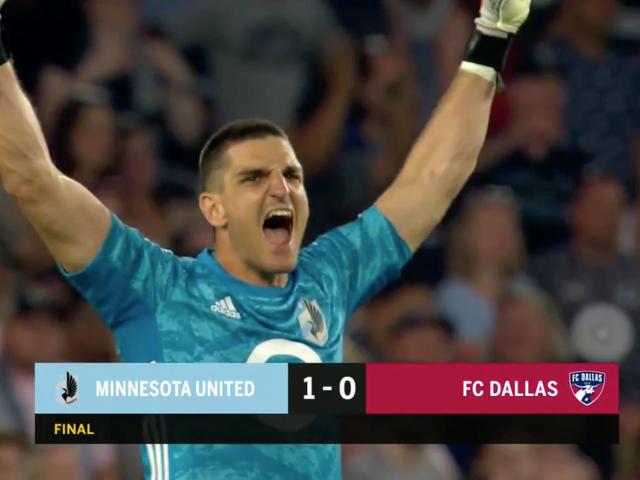 Minnesota United FC erzielte ein Siegtor und rettete einen Elfmeter in der Nachspielzeit