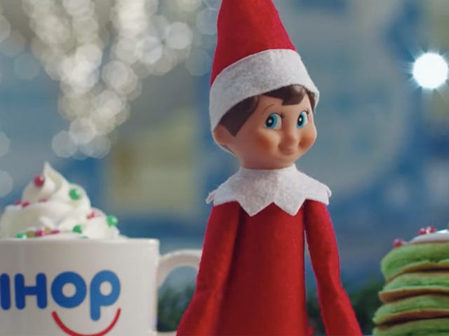 IHOP's holiday menu is watching you