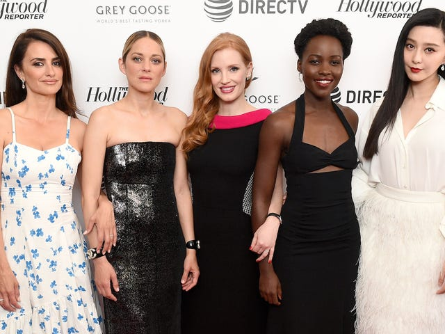 The Cast Photo for Jessica Chastain's Spy Film Has Melted My Eyeballs
