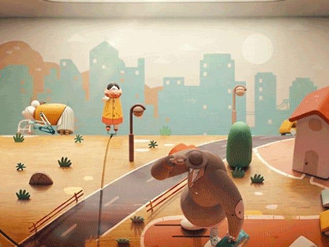 Animated na Video Maganda Recreates Lumang Penny Arcade Machine