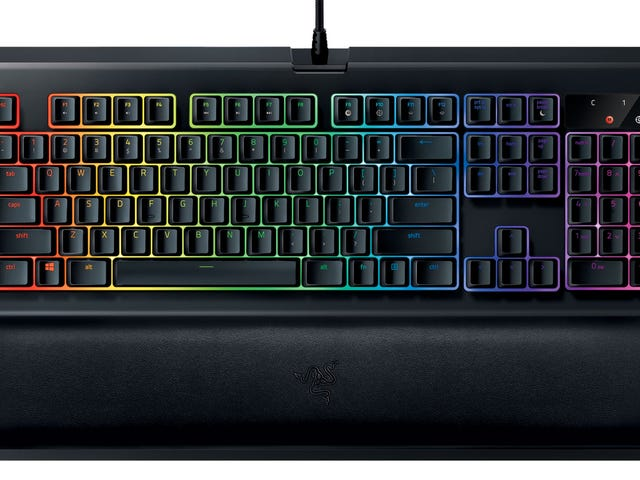 Razer's Most Popular Gaming Keyboard Gets A Wrist Rest And Fancy New Switches