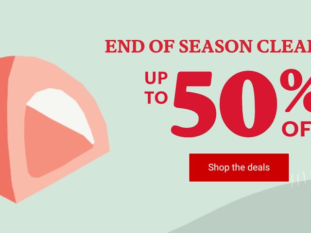 Genießen Sie die Natur noch mehr mit bis zu 50% Rabatt beim REI End of Season Sale