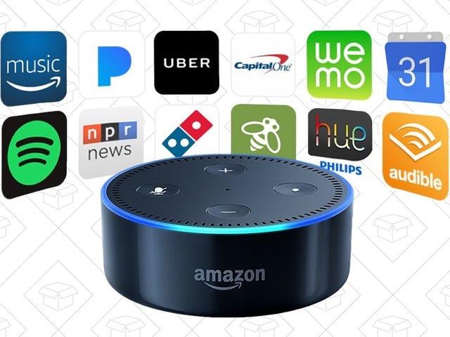 Lean Into the Alexa-Powered Future With $20 Off Three Amazon Echo Dots