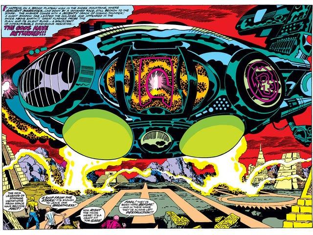 Hay una referencia a Eternals, la próxima película de Marvel, oculta a simple vista en Thor: Ragnarok