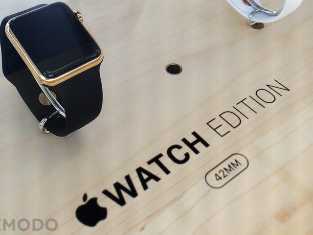 Cửa hàng Apple đã trang bị cho tôi chiếc đồng hồ trị giá 15.000 đô la mà tôi không bao giờ có thể mua được