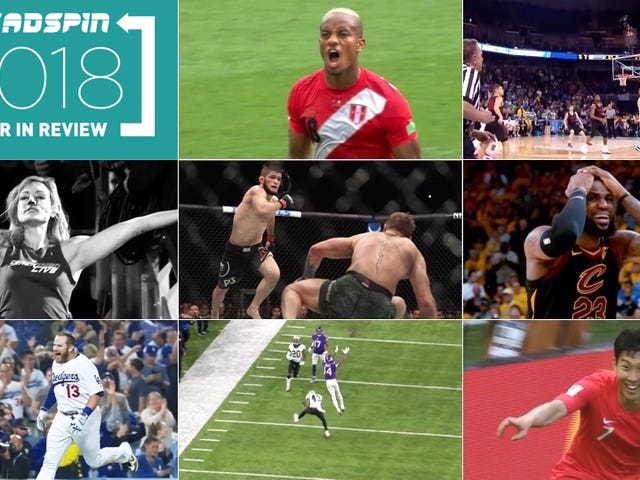 Deadspin's Favorite Sports Moments Mula 2018