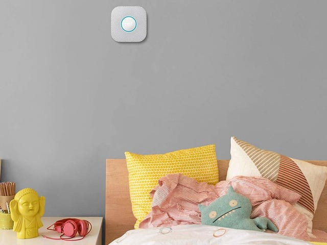 Protect Your Home With This $60 Google Nest Smoke + Carbon Monoxide Alarm