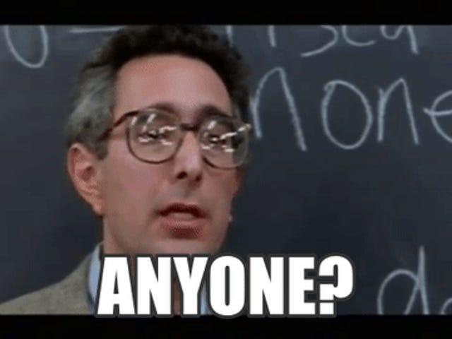 TAY Open Forum: Bueller... Bueller...?