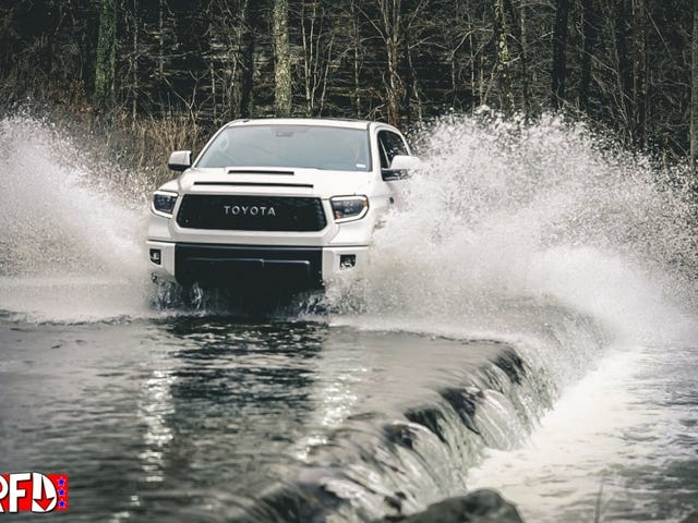 2019 Toyota Tundra TRD Pro Review is up on RightFootDown!