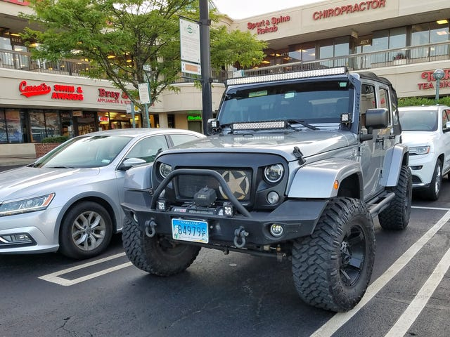 Angry Jeep is angry