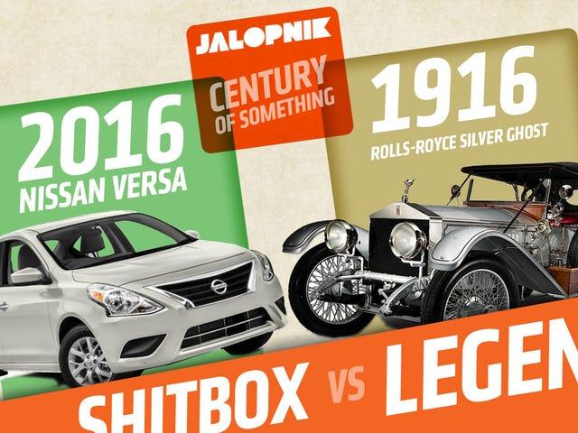 Let's Vertaa halvin auto tänään kallein auto 100 vuotta sitten