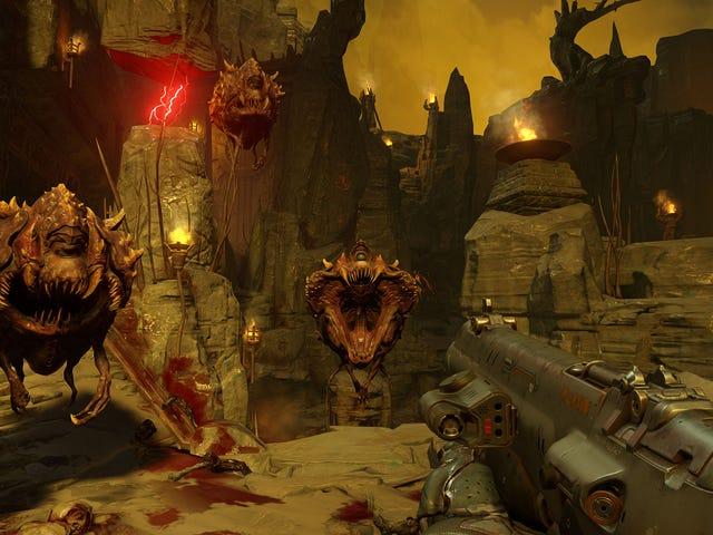 <i>Doom</i>がスイッチでモーションコントロールを取得