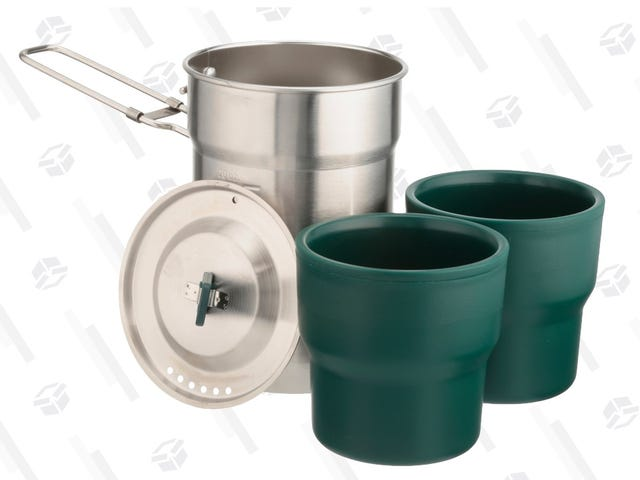 Take This Stanley Cook Set On Your Next Camping Trip, Only $9