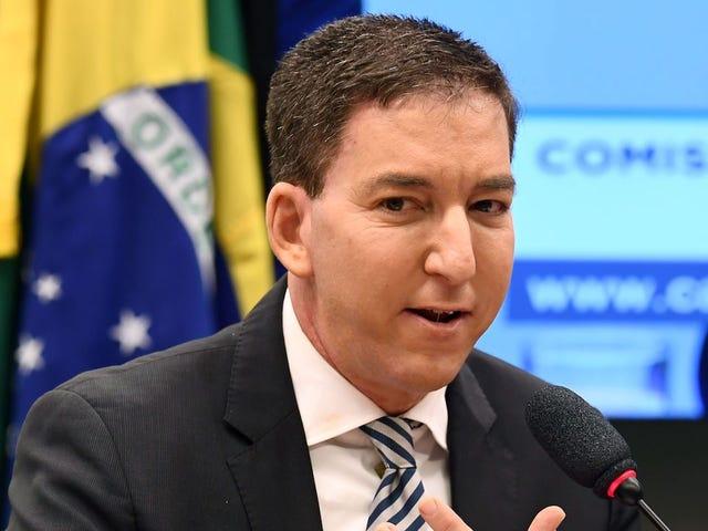 ब्राजील में शर्मनाक अधिकारियों के बाद साइबर अपराध के साथ ग्लेन ग्रीनवल्ड ने आरोप लगाया