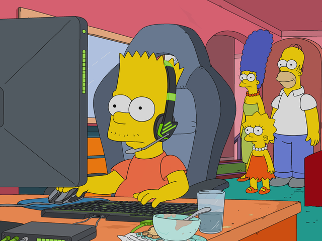 <i>The Simpsons</i> Is Going To Have An Esports Episode