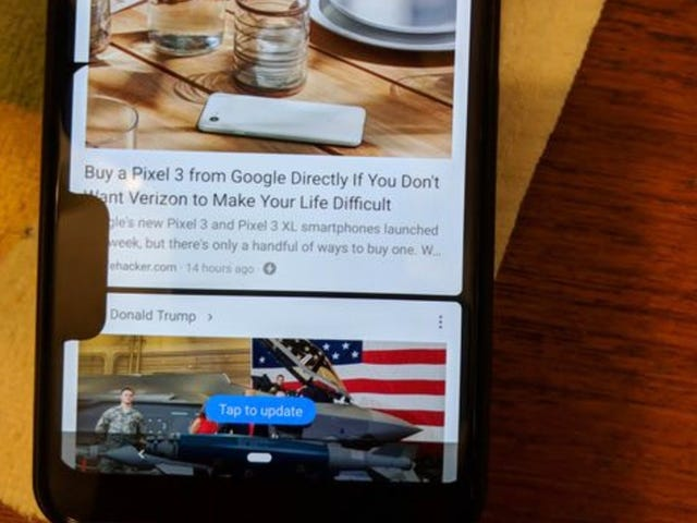 Delightful Google Bug Seemingly Gives Pixel 3 XLs an Extra Helping of Notches