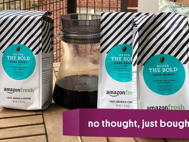 Amazon Coffee Deliveries or: How I Learned to Stop Worrying and Love the Cold Brew