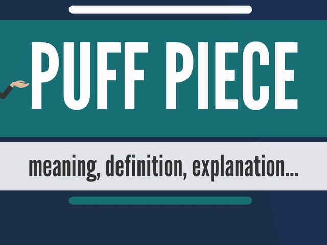 Let's talk about: Puff Pieces