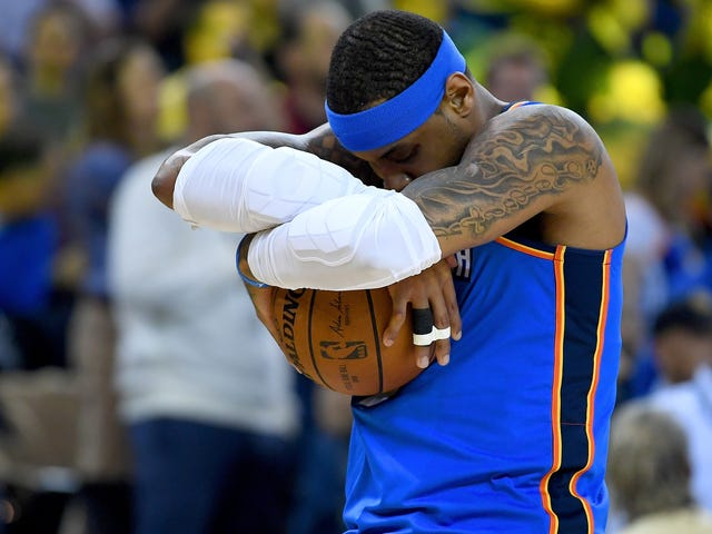 The Time Has Come For Carmelo Anthony To Hit Some Damn Shots