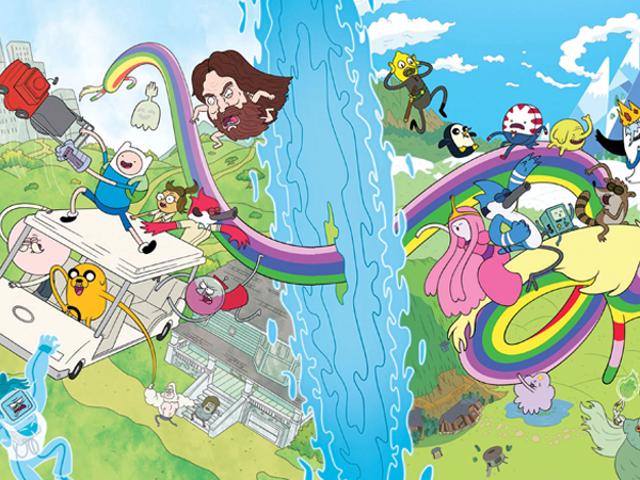 Adventure Time και η Regular Show θα περάσουν στη δική τους κόμικ
