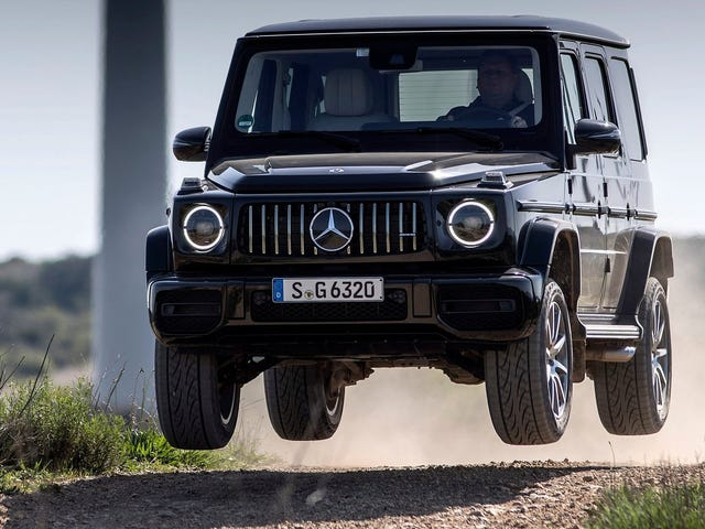 The Mercedes-AMG G63 Goes How Fast?
