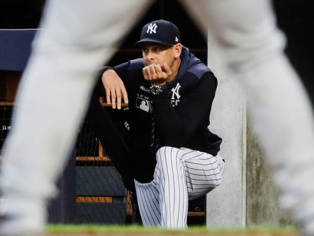 Aaron Boone Wants MLB To Consider Implementing A Mercy Rule