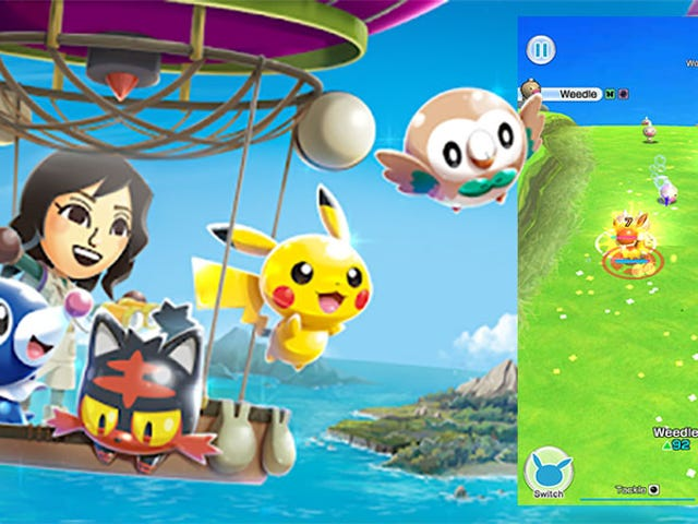<em>Pokémon Rumble Rush</em> es tan básico como el Batalla de Pocket Monster
