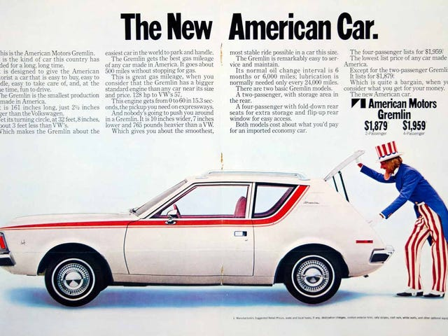 Uncle Sam Wanted You To Buy A Gremlin.