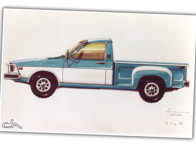 This Rarely-Seen Sketch Suggests An Alternate History From When Renault Bought AMC