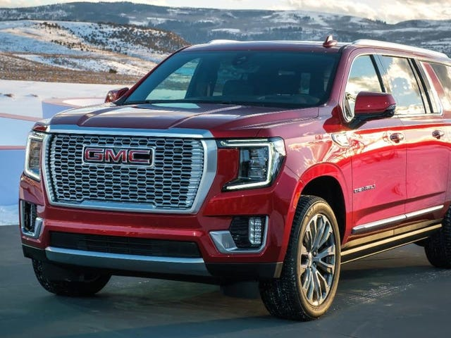 The 2021 GMC Yukon Can Spin In Place, But You Aren't Supposed To Know That