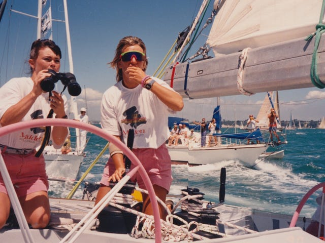 Maiden brings to life a true story of round-the-world maritime adventure