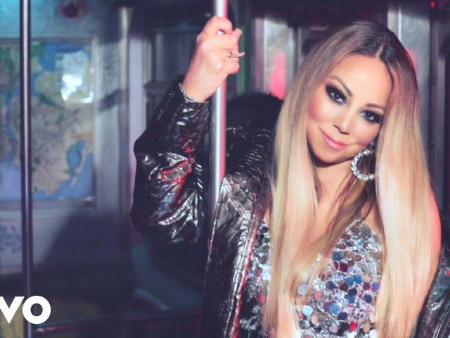 Mariah Carey lleva el glamour al metro de la Ciudad de Nueva York, Louis Tomlinson Mourns y New Maren Morris