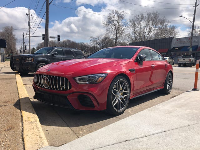 First AMG GT 4-Door in the wild + A Rant