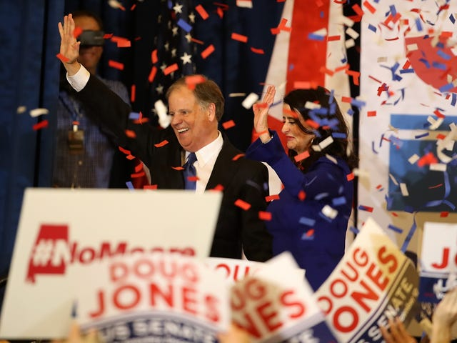A Moment-by-Moment Look at Doug Jones' Historic Win and Roy Moore's Tragic Defeat Told in GIFs