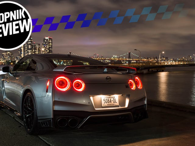 The 2018 Nissan GT-R Is More Godzilla Than Ever: Ancient but Unstoppable