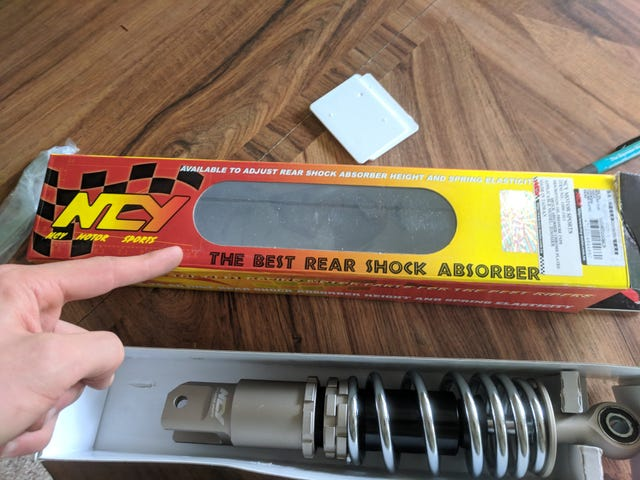 The best rear shock absorber.