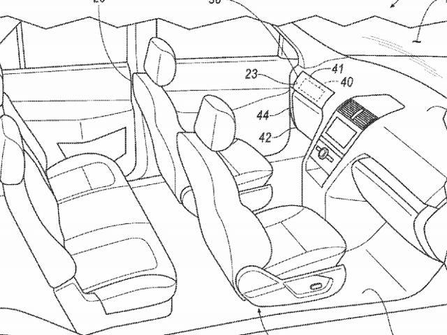 Ford Patents Roues et pédales amovibles pour voitures autonome