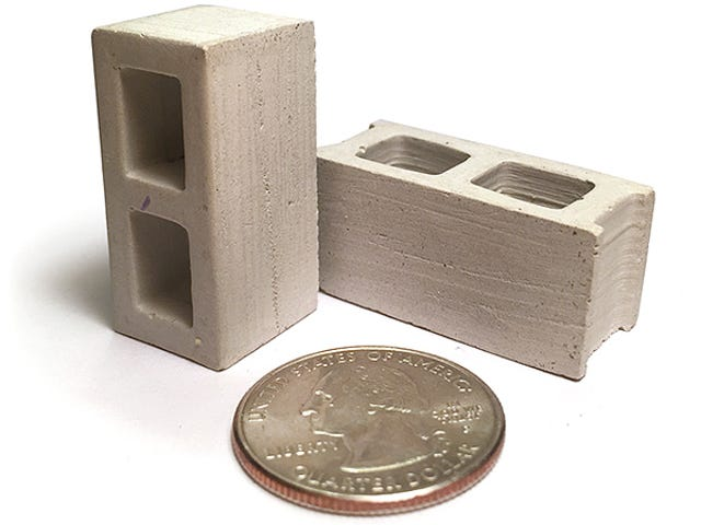 Build a Bulletproof Fortress For Figures With Tiny Cement Cinder Blocks