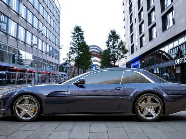 This Coachbuilder Will Make Your Ferrari GTC4Lusso Look Like A New 412, And That's Totally Rad