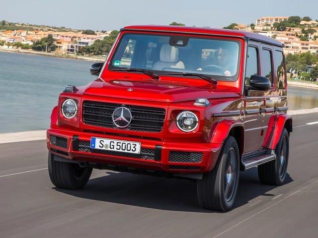 Mercedes duplica que a nova classe G é um símbolo de status com nova versão elétrica